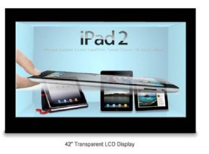 42inch Beautiful IR Touch Transparent LCD Display pictures & photos