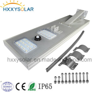 Energy Saving Integrted 30W Solar LED Street Light with Factory Price pictures & photos
