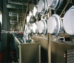 Non-Stick Cookware Paint Spraying Machine pictures & photos