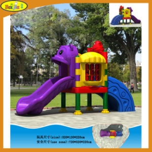2015 Commercial Kindergarten Children Outdoor Plastic Playground