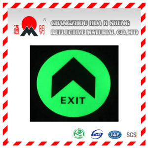 Pet/PVC Photo Luminescent Reflective Film for Stoping Sign (FG301) pictures & photos