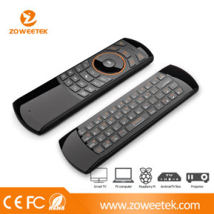 Ultra-Thin Mini Keyboard USB with IR Learning Fuction for Smart TV and Android TV pictures & photos