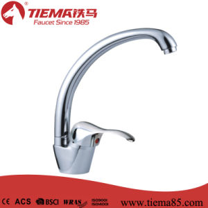 40mm Ceramic Cartridge Classic Design Mixer Brass Sink Kitchen Faucet (ZS50305)