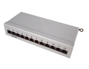 FTP Cat. 5e 12port Krone IDC Patch Panel