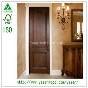 Modern Style Luxury 100% Solid Wood Door