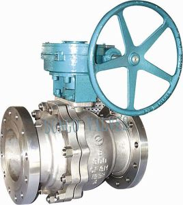 Floating Ball Valve with Gear pictures & photos