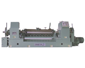 Single-Clamp-Shaft Veneer Lathe