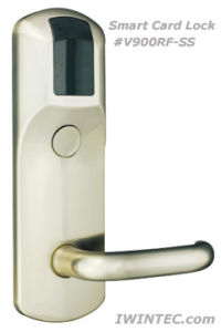 Smart Card Hotel Door Lock (V6900-RF-SS) pictures & photos