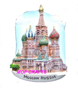 Moscow Russia Souvenirs Gifts of Fridge Magnet pictures & photos