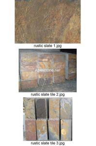 Rustic Slate Tile / Yellow Slate Cut-to-Size