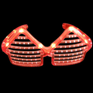 House Promotional Gifts LED Flashing Fashion Sunglasses (QY-LS100H) pictures & photos