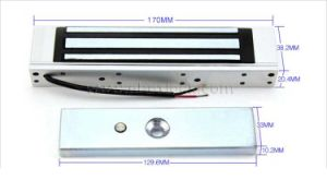 Electromagnetic Lock with 180kg Holding Force for 12V Single Door pictures & photos