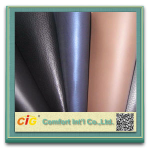 Hot Sale PU Leather Fabrics for Shoes pictures & photos