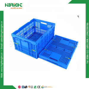 Plastic Packing Box Plastic Moving Crate with Lid pictures & photos