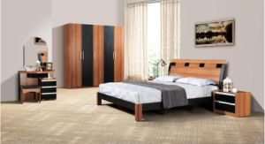 Simple Design Hot Sale Solid Wood Bedroom Furniture pictures & photos