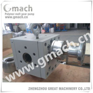 Plastic Extrusion Line Used Pump Melt Gear Pump pictures & photos