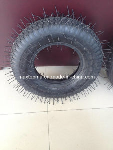 China Green Wheelbarrow Inner Tube and Tyre pictures & photos