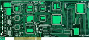 Hal Leadfree + Gold Finger Double PCB Manufacturing pictures & photos