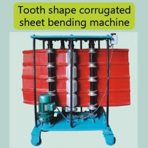 China Tooth Shape Corrugated Sheet Bending Machine pictures & photos