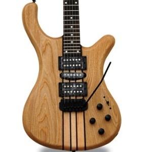 Transparent Natural Neck Through Electric Guitar (AAN-154) pictures & photos