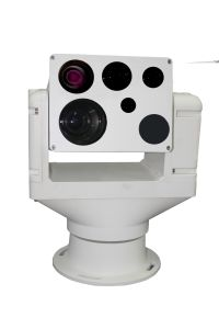 Heavy Duty Laser Assisted PTZ HD Camera with 5km Thermal Image and Distance Measurement pictures & photos