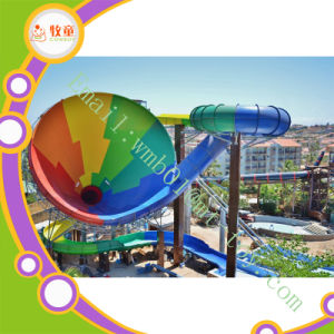 Fiberglass Open Spiral Water Slide for Sale pictures & photos