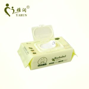 Private Label Wholesale Baby Wipe Biodegradable & Organic Baby Wet Wipes 80PCS pictures & photos