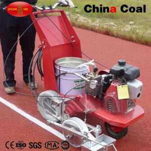 Hand-Push Hot Paint Machine Thermoplastic Road Line Marking Machine for Rubber Sports Field pictures & photos