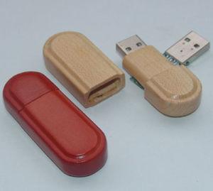 Wooden USB Flash Drive (QHSC128)