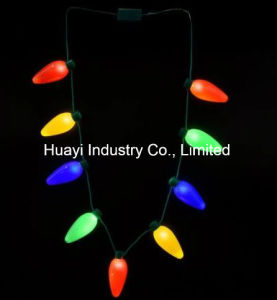 LED Light up Big Bulbs Necklaces pictures & photos