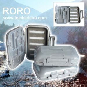 Slit Foam and Compartments Waterproof Fly Fishing Box pictures & photos