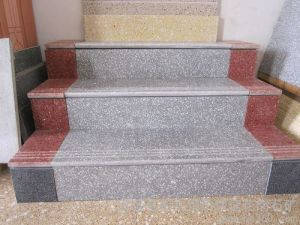 Wholesale Building Material Grey/Red/White/Black Granite Circular/Spiral/Curved Staircase/Stairs