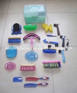 Plastic Cheap Horse Grooming Kit for Sale pictures & photos