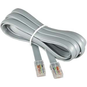 Telephone Patch Cord in Rj11 pictures & photos