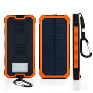 15000mAh Dual USB Solar Power Bank Portable pictures & photos