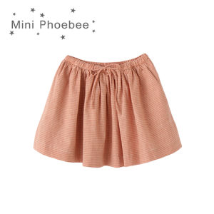 Phoebee Fashion Wholesale 100% Cotton Children Apparel Girl′s Skirts for Summer pictures & photos