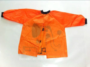 Smocked Children Clothing Waterproof Apron pictures & photos