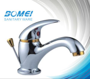 Classic Gold Plated Basin Faucet (BM51503) pictures & photos