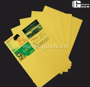 PVC Digital Printing Sheet Card Material for Indigo Printer (Silver/Golden) pictures & photos