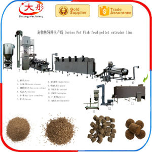 Aqua Fish Food Feed Extrusion Making Machines pictures & photos
