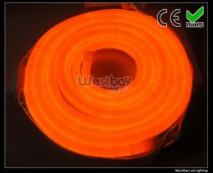 Orange 240V LED Neon Rope, LED Neon Flex Standard