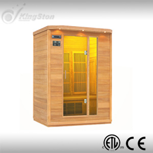 Far Infrared Wood Sauna Room (FIS-03LC) pictures & photos