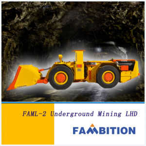 Underground Diesel Four Wheel Drive Mine Scoop (FAML-2)