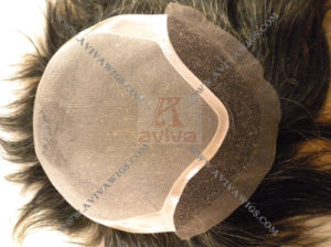 Human Hair Men′s Toupee (AV-TP011) pictures & photos