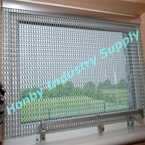 Customized Assorted Colors Double Hook Aluminum Chain Window Covering Curtain pictures & photos