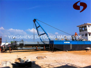 New 12 Inch Cutter Suction Sand Dredging Ship for Sale