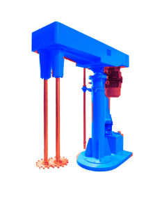 High Speed Mixture Machine for Water Paint