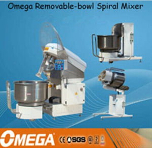 Bakery Equipment 300kg Removable Spiral Dough Mixer with Remove Bowl and Tilt-Lifter pictures & photos