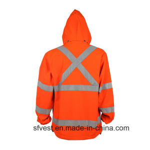 En ISO 20471 Safety Reflective Hoodies with Hat pictures & photos