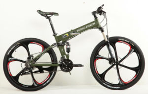 Good Quality Suspension and Folding MTB Bikes (FP-MTB-A061) pictures & photos